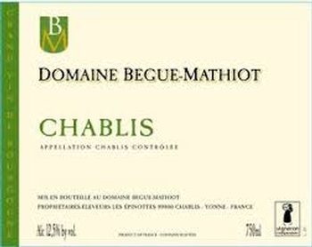 Begue-Mathiot 2015s Premier Cru Chablis 4-pack