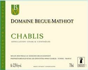 Begue-Mathiot Chablis 2015