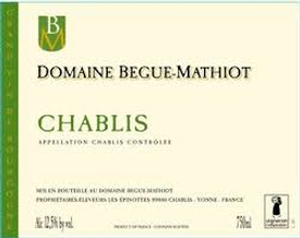 Begue-Mathiot Chablis AC 2017